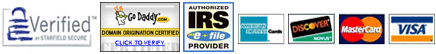 IRS and Credit Card Services